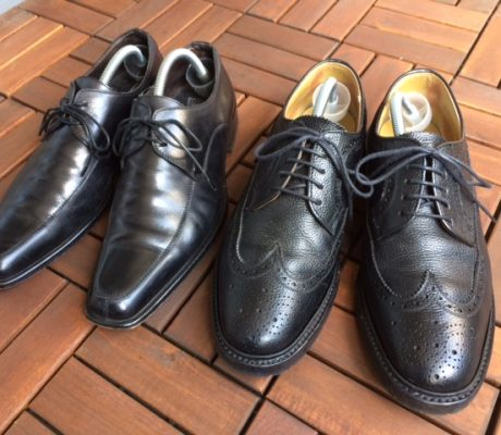 雨で濡れてしまった革靴をそのままにしていませんか?